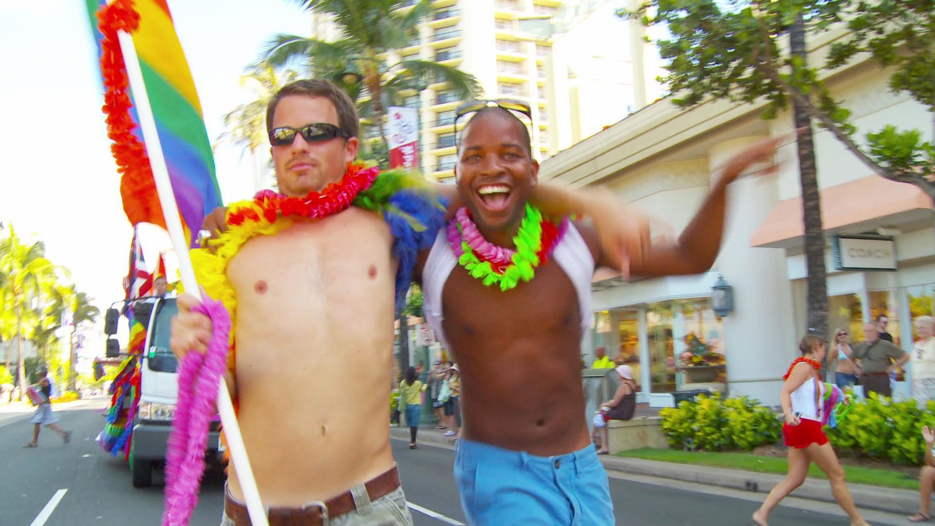 Gay pride in awaii